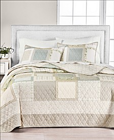Neutral Patchwork Quilt Collection, Created for Macy's