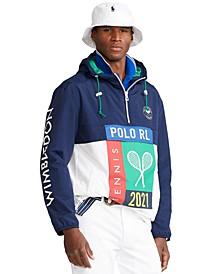 Men's Wimbledon Packable Hooded Jacket