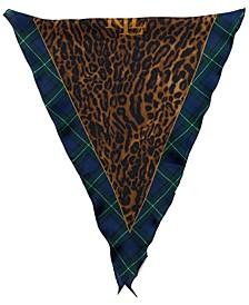 Women's Helena Animal Large Diamond-Like Scarf