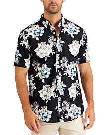 Men's Cody Print Short Sleeve Shirt, Created for Macy's