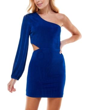 Juniors' One-Shoulder Bodycon Dress