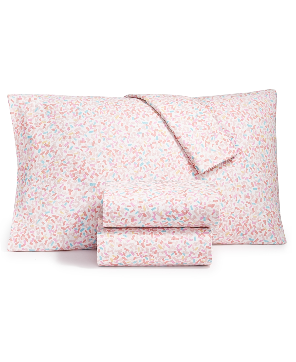 Whim by Martha Stewart Collection Flannel Cotton 3-Pc. Twin Sheet Set, Created for Macy's Bedding
