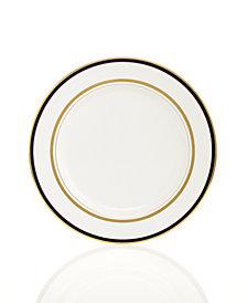 kate spade new york Library Lane Navy Appetizer Plate