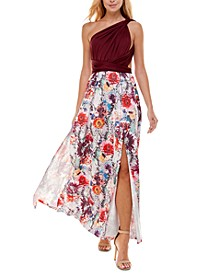 Printed Convertible Maxi Dress