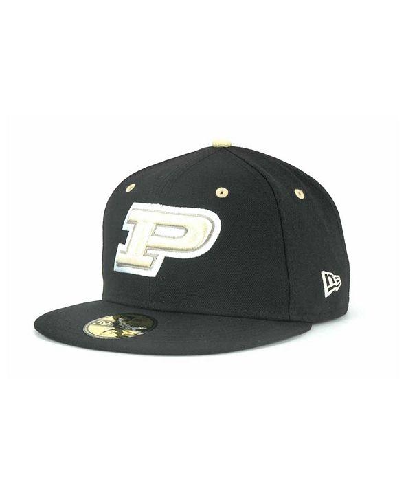 New Era Purdue Boilermakers NCAA AC 59FIFTY Cap