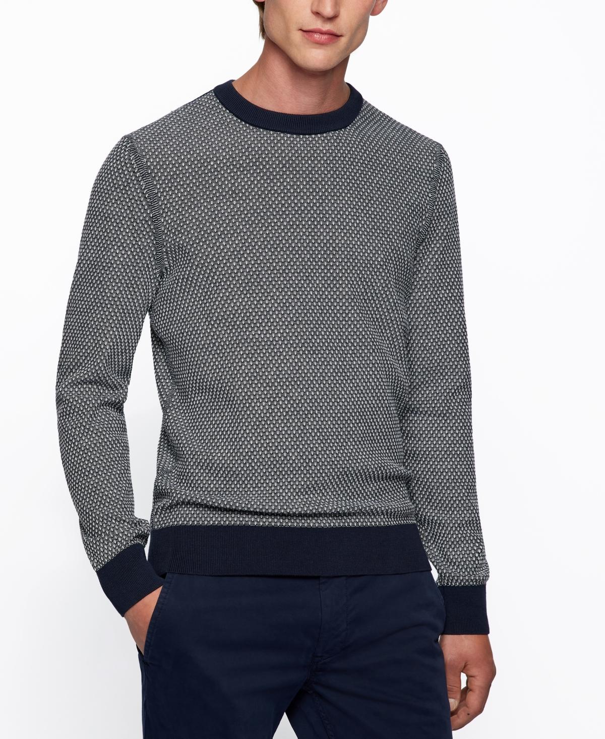 1920s Men's Sweaters, Cardigans, Knitwear Boss Mens Sweater $148.00 AT vintagedancer.com