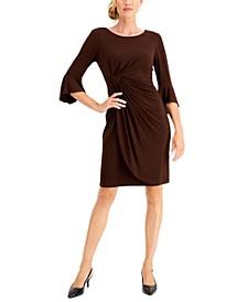 Petite Side-Tab Sheath Dress