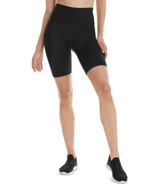 "Women's Stamped Croc-Embossed 8"" Biker Shorts"