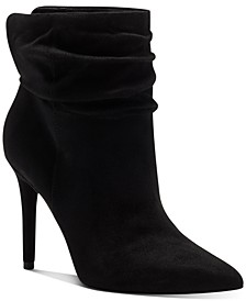 Women's Lalie Slouchy Dress Booties, Created for Macy's