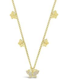 Women's Dainty Butterfly Choker Necklace