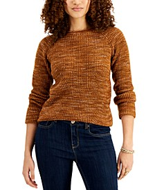 Petite Candy Space-Dyed Sweater, Created for Macy's