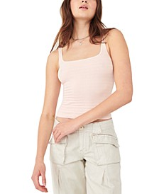 Square One Ribbed Tank Top