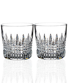 Waterford Lismore Diamond Tumblers, Set of 2