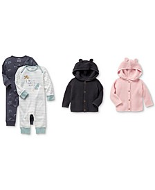 Baby Girls & Boys Jumpsuits & Cardigans Separates
