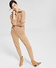 Half-Zip Sweatshirt & Jogger Pants, Created for Macy's
