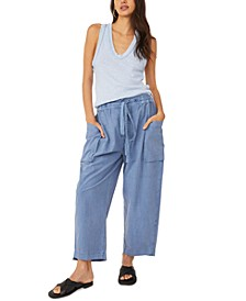 Be The Change Cotton Slouch Pants