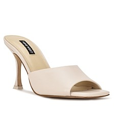 Women's Perfact Heeled Slide Sandals