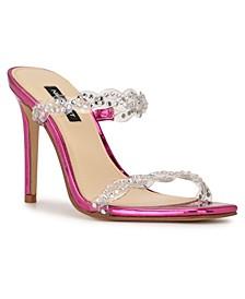Women's Ziggle Heeled Slide Sandals