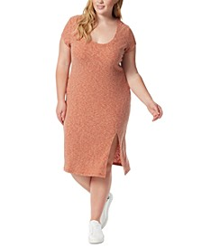 Trendy Plus Size Jax Front-Slit Dress
