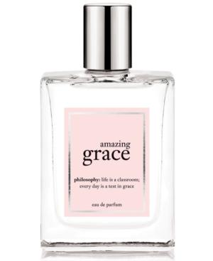 philosophy amazing grace eau de parfum, 2 oz