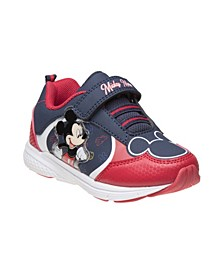 Little Boys Mickey Mouse Sneakers