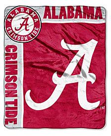 Northwest Company Alabama Crimson Tide Plush Team Spirit Throw Blanket