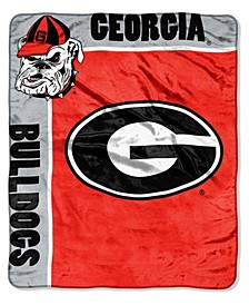 Georgia Bulldogs Plush Team Spirit Throw Blanket