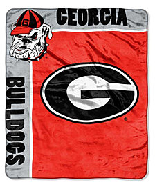 Northwest Company Georgia Bulldogs Plush Team Spirit Throw Blanket