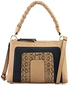 Twisted-Handle Shoulder Bag, Created for Macy's