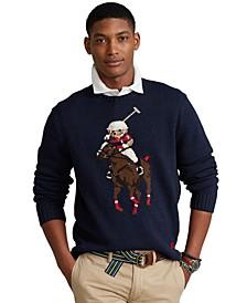 Men's Polo Bear & Big Pony Sweater