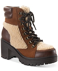 Cookie Lace-Up Booties, Created for Macy's