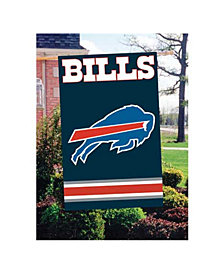 Party Animal Buffalo Bills Applique House Flag