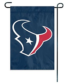 Party Animal Houston Texans Garden Flag