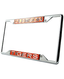 Clemson Tigers Laser License Plate Frame