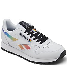 Men's Classic Leather Pride Casual Sneakers from Finish Line