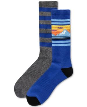 Men's Mountain Stripe Socks
