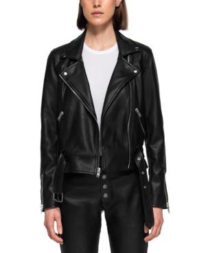 Faux Leather Paige Biker Jacket