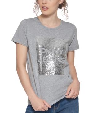 Sequin Logo T-Shirt