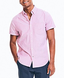 Men's Short-Sleeve Oxford Shirt