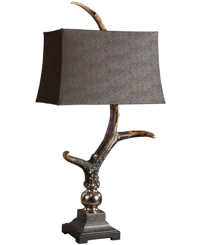 Uttermost - Dark Shade Stag Horn Lamp