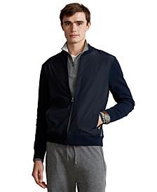 Men's Hybrid Full-Zip Sweater
