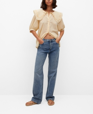 Women's Babydoll Collar Blouse