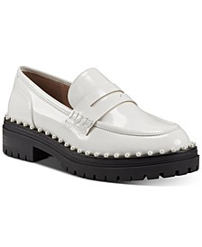 Women's Branna Beaded Loafers, Created for Macy's