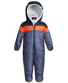 Baby Boys Colorblocked Snowsuit