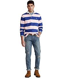 Men's Varick Slim Straight Distressed Jeans