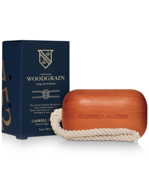 Heritage Woodgrain Sandalwood Soap On A Rope