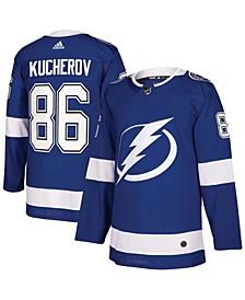 Men's Nikita Kucherov Blue Tampa Bay Lightning Authentic Player Jersey