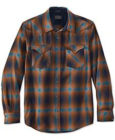 Men's Canyon Plaid Wool Western Shirt