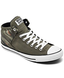 Men's High Street Mid Hybrid Camo Casual Sneakers from Finish Line