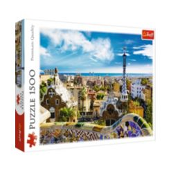 Trefl Jigsaw Puzzle Park Guell, 1500 Pieces
